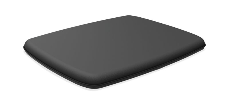 HON Rectangle Wobble Board | Anti-Fatigue Mat | Black