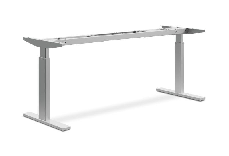HON Coordinate Height-Adjustable Base | 2-Stage | Nickel Finish