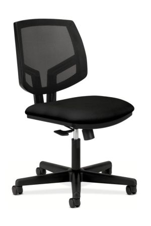 HON Volt Mesh Back Task Chair | Center-Tilt, Tension, Lock | Black Fabric