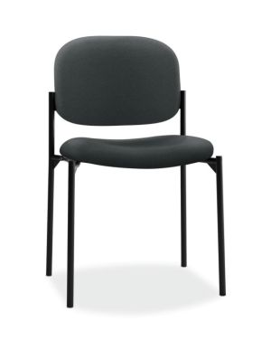 HON Scatter Stacking Guest Chair   Charcoal Fabric