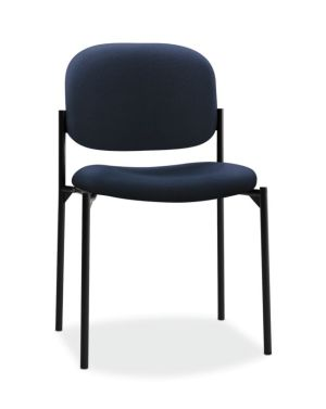 HON Scatter Stacking Guest Chair   Navy Fabric