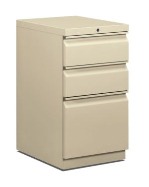 HON Pedestal File | Box/Box/File | 20″D | Putty