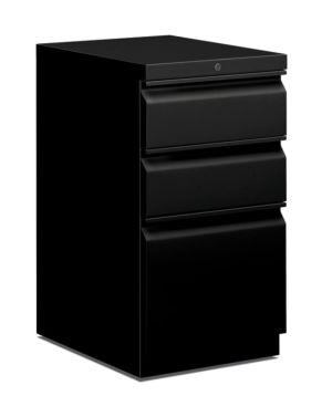 HON Pedestal File | Box/Box/File | 20″D | Black
