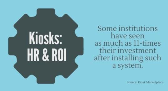 ROI Maximization With an Employee Self Service Kiosk