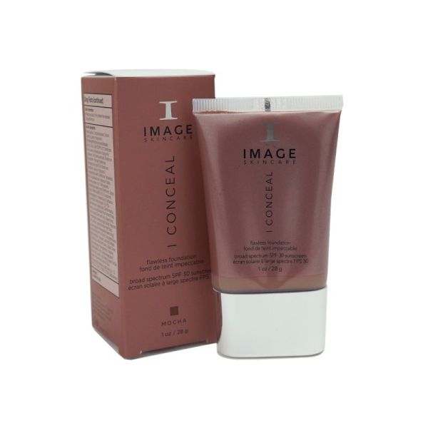 iConceal Flawless Foundation - Mocha - Advanced Laser Light Cork