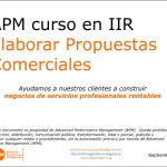 Curso en IIR Propuestas Ganadoras Advanced Performance Management