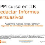Redactar informes persuasivos Advanced Performance Management