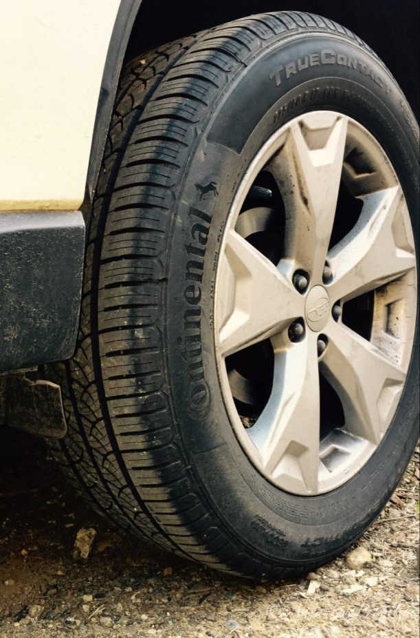 subaru forester best replacement tire
