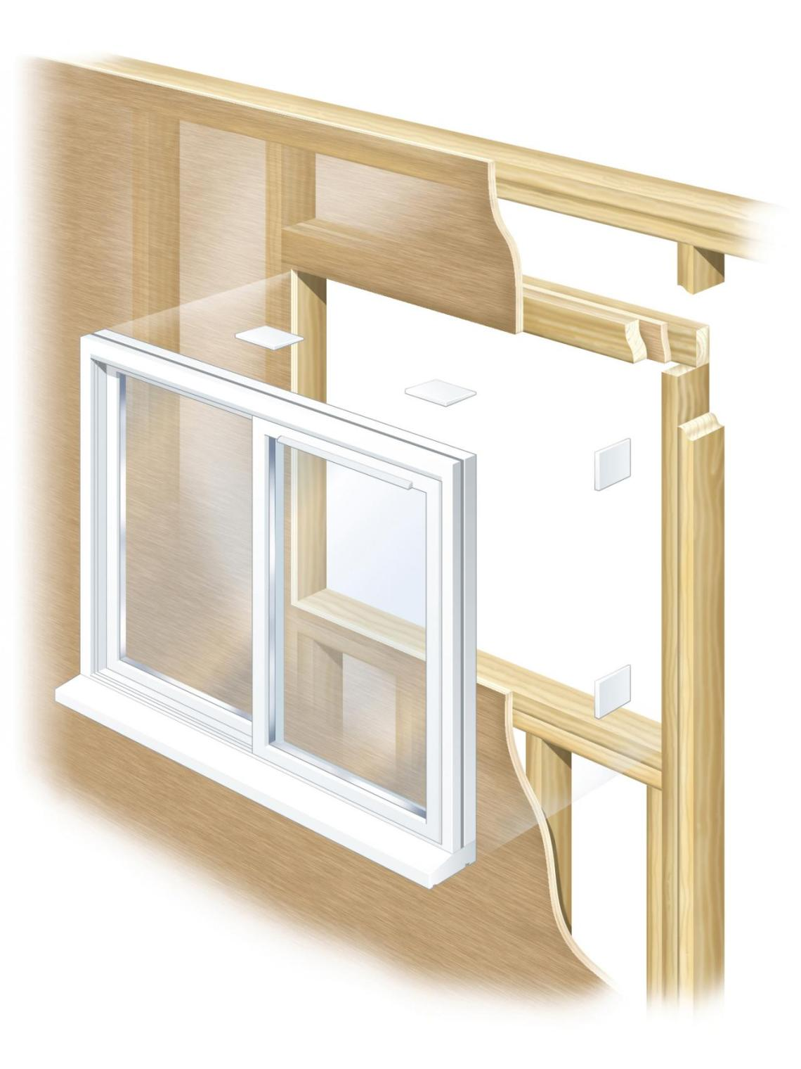 Image Result For How To Install A Ba T Window In A Block Wall