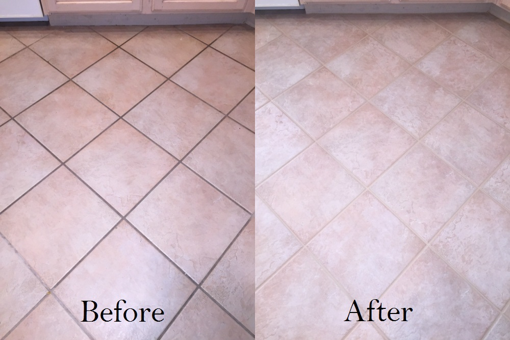 how to clean tile grout effectively
