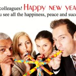 New Year wishes for Business Colleagues