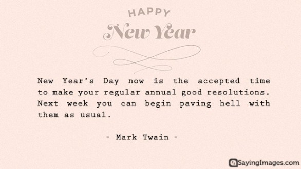 Best Funny New Year Quotes