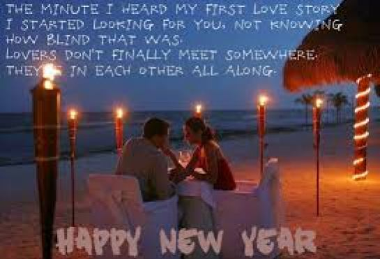 Romantic Happy New Year Wallpaper for Husband