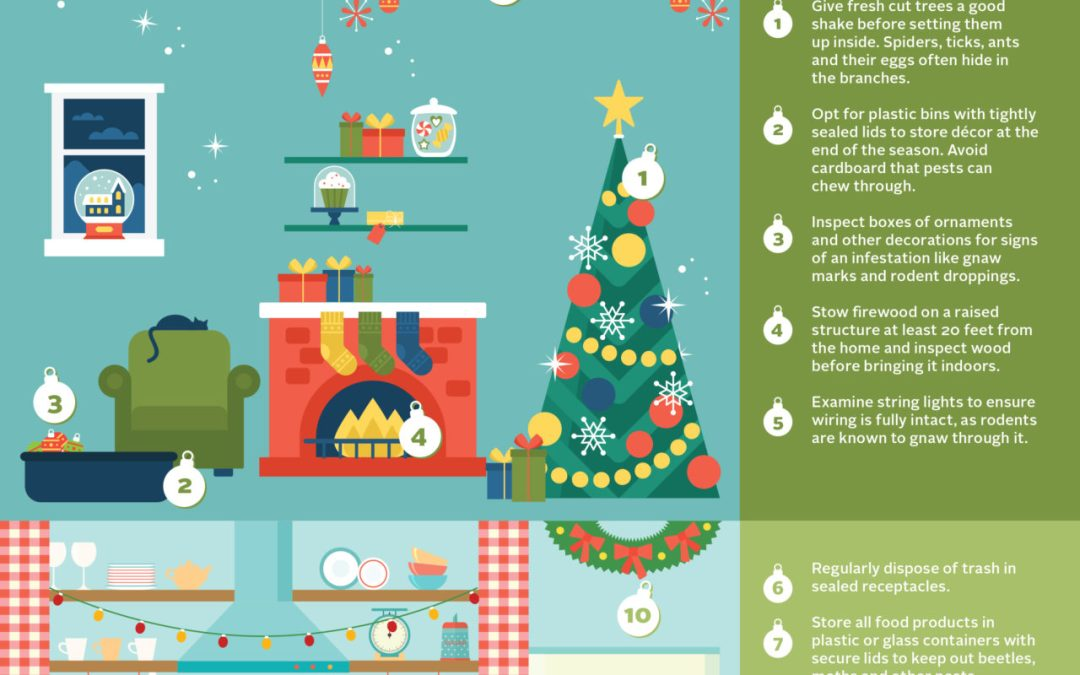 KEYS to Holiday Pest Proofing