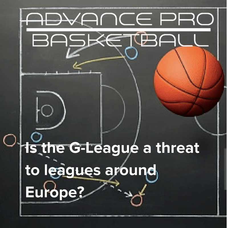 Is the G-League a threat to leagues around Europe-