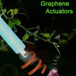 Bioinspired Graphene Actuators Prepared by Unilateral UV Irradiation of Graphene Oxide Papers