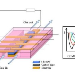 A sensor array based on trigonal-selenium nanowires for the detection of gas mixtures. Advances in Engineering
