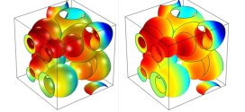 Diffusion in sphere and spherical-cavity arrays with interacting gas and surface phases- Advances in Engineering