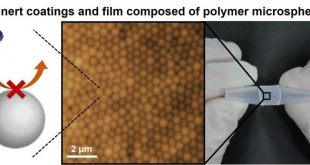 Water-immiscible bio-inert coatings and film formation from aqueous dispersions of poly (2-methoxyethyl acrylate) microspheres. Advances in Engineering