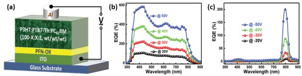 Multifunctional Photomultiplication Type Organic Photodetectors with Broadband and Narrowband Response Ability, Advances in Engineering