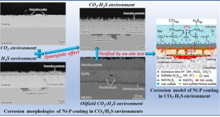 Unraveling the effects of CO2 and H2S on the corrosion behavior of electroless Ni-P coating in CO2/H2S/Cl- environments at high temperatures and high pressure - Advances in Engineering