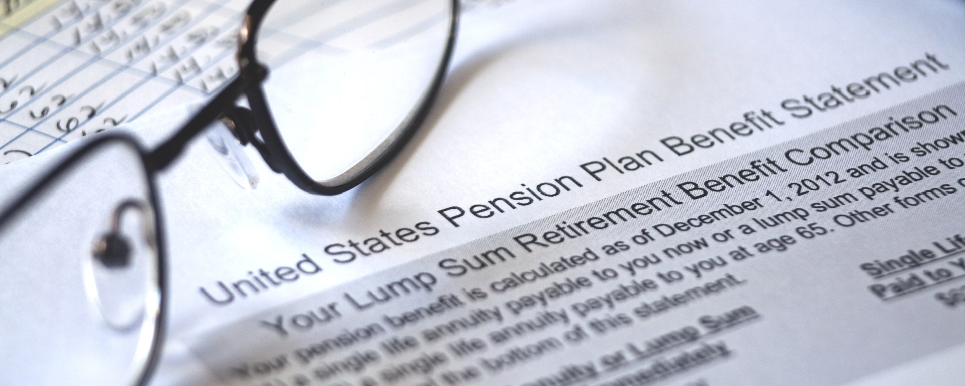 United States Pension Plan Benefit Statement