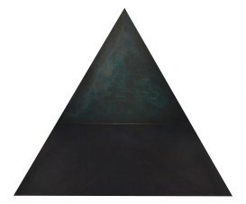 A; 1993; 100 x 115 x 13 cm ; latten, board, katoen, acrylverf