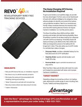 Wireless Revo - Advantage GPS