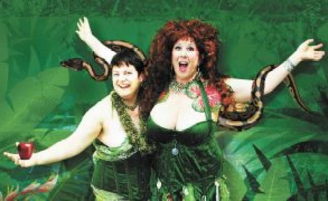Annie Sprinkle and her partner Beth Stephens