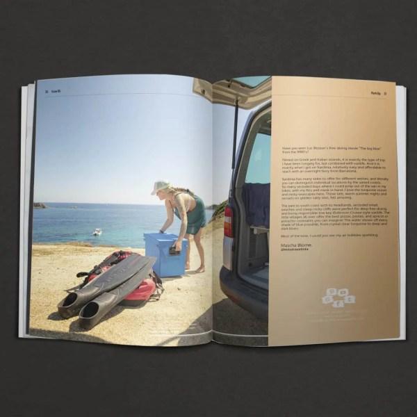 Advanture Magazine issue 06 spread 01