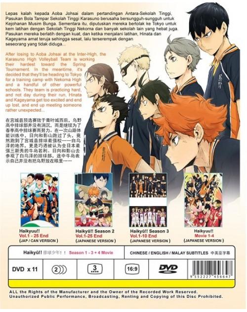Haikyusea1-3+4movie DVD BACK