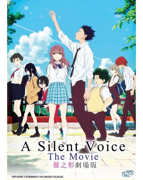 A SILENT VOICE THE MOVIE *ENG DUB*