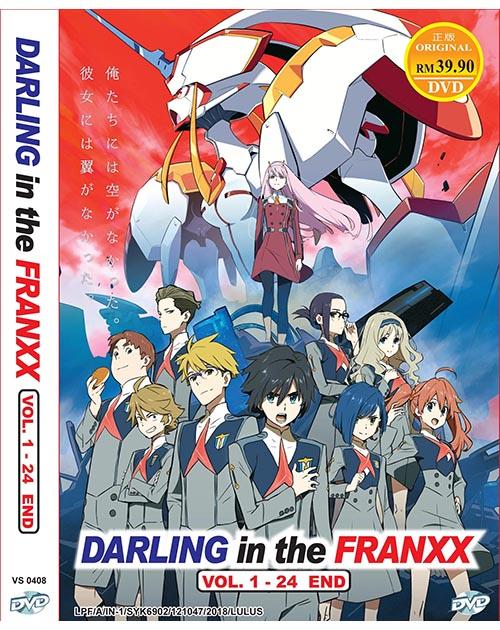 DARLING IN THE FRANXX VOL.1-24 END *END DUB*