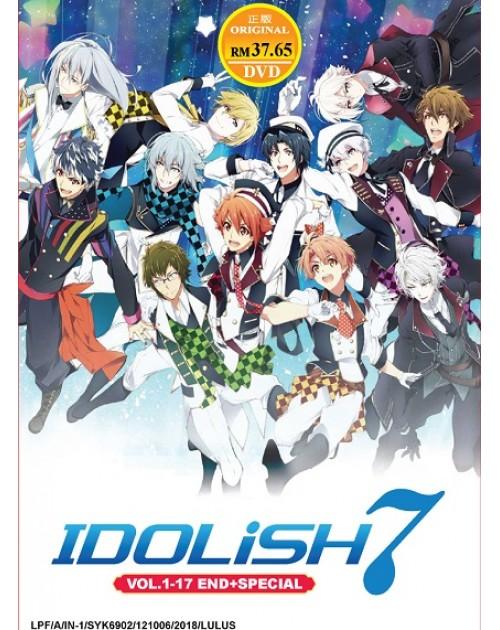 IDOLISH 7 VOL.1-17 END + SPECIAL