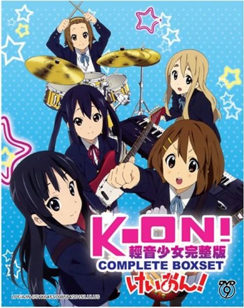 K-ON !! SEA 1 + 2 + MOVIE + 5 OVA