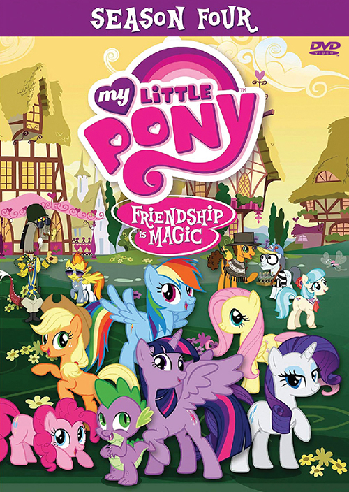 MY LITTLE PONY: FRIENDSHIP IS MAGIC SEASON 4 VOL.1-26 END