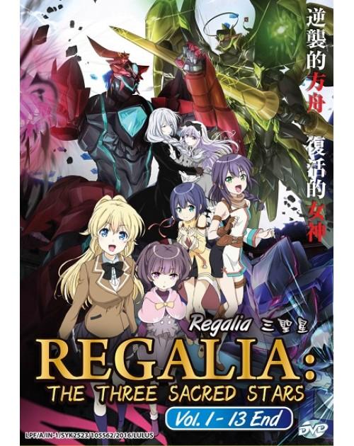 REGALIA: THE THREE SACRED STARS VOL.1-13 END