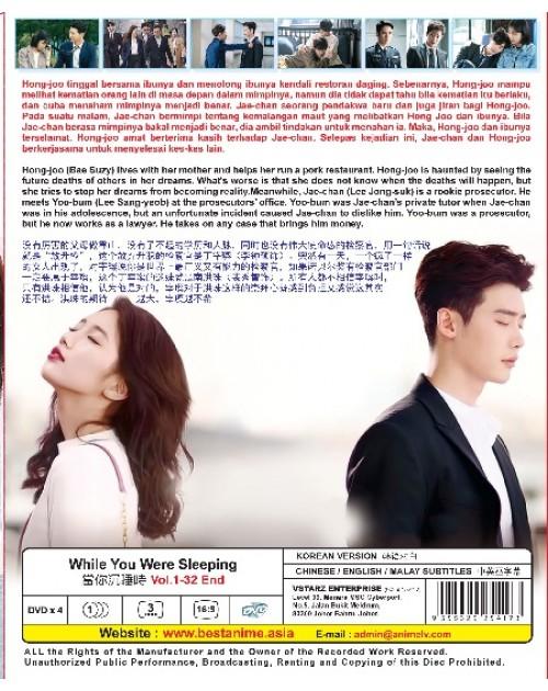 KOREAN DRAMA : WHILE YOU WERE SLEEPING VOL.1-32 END