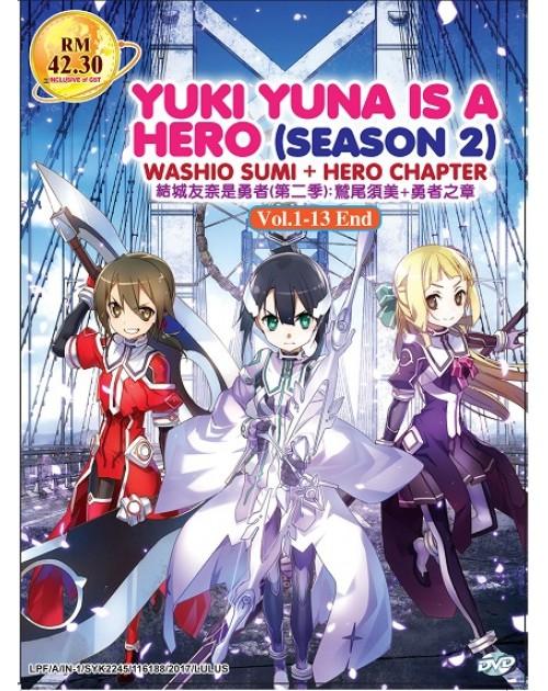 YUKI YUNA IS A HERO SEA 2: WASHIO SUMI + HERO CHAPTER
