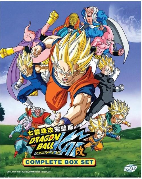 Dragon Ball Kai DVD