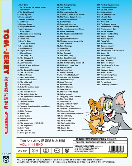 Tom and Jerry Vol.1-141 End