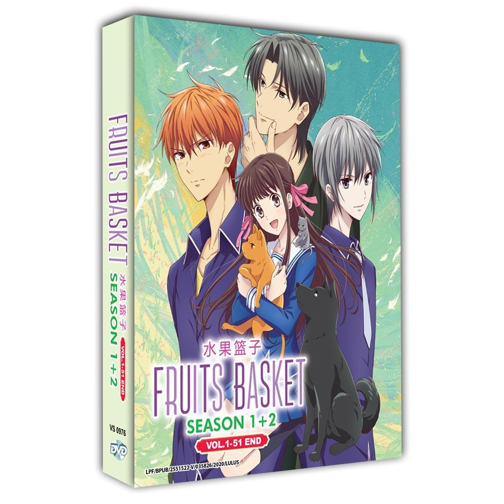 Fruits Basket Season 1+2 Vol.1-51 End