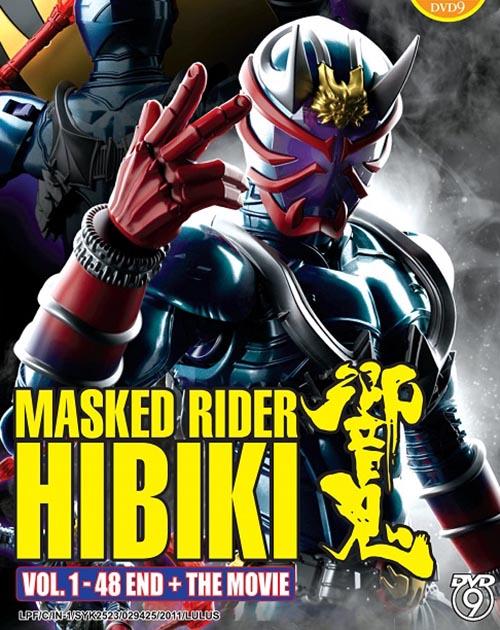 Masked Rider Hibiki Vol.1-48 End - Movie DVD