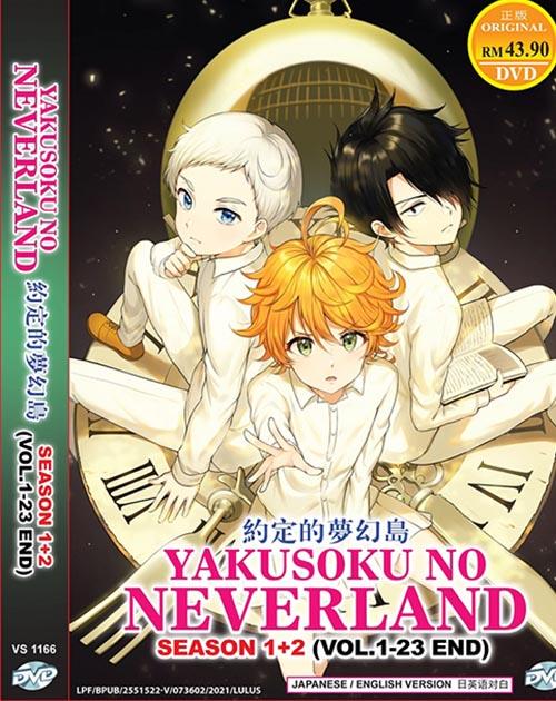Yakusoku no Neverland Season 1-2 Vol.1-23 End dvd