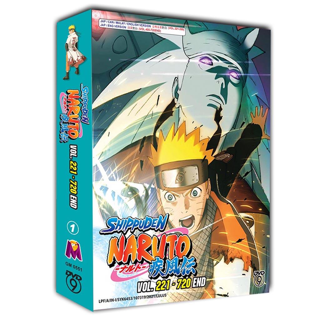 Naruto Shippuden Vol. 221-720 End DVD