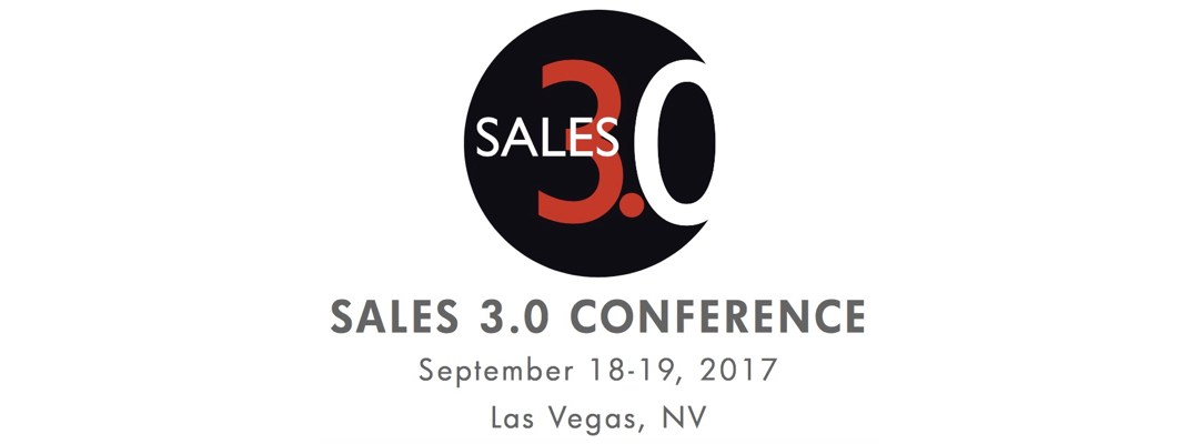 Sales 3.0 Conference Las Vegas Sept 18-19. Join Us!