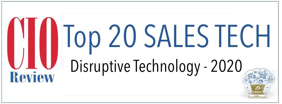 Top 20 Sales Tech Disruptive Technology