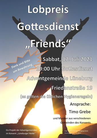 Lobpreis-Gottesdienst in Lüneburg