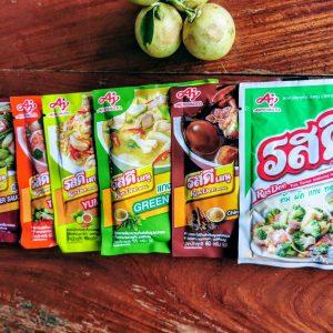 Condiements thailandais