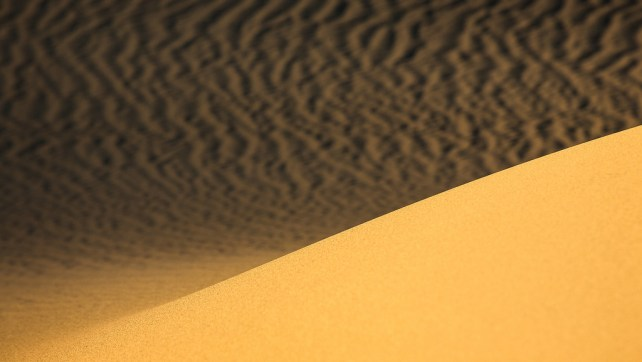 Eureka Dunes to the Mesquite Dunes